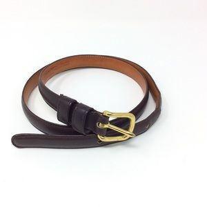 Vintage Coach Leather Belt #2802